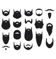 Set of beard silhouettes vector | Price: 1 Credit (USD $1)