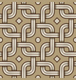 viking seamless pattern - engraved - chained vector image vector image