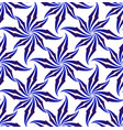 abstract flower pattern vector image vector image
