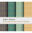 Art Deco seamless pattern 01 vector image vector image