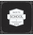 Back to School and looking cool vector image