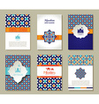 Banners set of islamic vector image