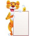 cheetah cartoon vector image vector image