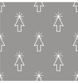 Click seamless pattern vector image vector image