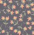 Floral pattern Seamless doodle flowers vector image vector image