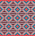 geometric rhombus seamless pattern vector image vector image