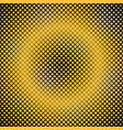 halftone square background pattern design vector image vector image