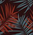 leaf seamless pattern2 vector image vector image
