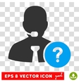 Online Support Eps Icon vector image vector image