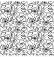 seamless pattern with snails vector image vector image
