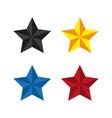 star icon simple vector image