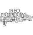 why buy an reo text word cloud concept vector image vector image