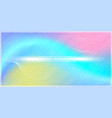 abstract color gadientmesh and lines with colorful vector image vector image