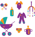 baby care vector image vector image