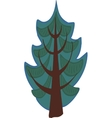 Cartoon conifer Tree Isolated vector image