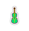 color label design collection of musical vector image vector image