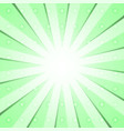 green radial background vector image vector image