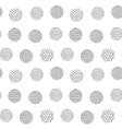 irregular dots brush strokes pattern seamless vector image vector image