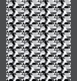 seamless template repeating pattern vector image vector image