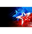 Abstract American Flag Background vector image vector image