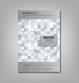 Brochures book or flyer with abstract light vector image vector image