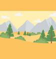 landscape arid ground trees rocky mountains sky