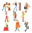 Profession and Occupation Set vector image vector image