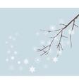 snow winter vector image vector image