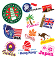 Travel landmark vector image vector image