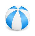Blue Beach Ball vector image