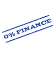 0 Percent Finance Watermark Stamp vector image vector image