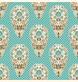 colorful paisley seamless pattern indian vector image vector image
