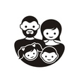 Family symbol vector image