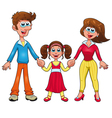 Human family vector image