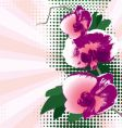 orchid background vector image vector image