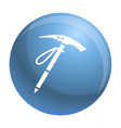pick mountain tool icon simple style vector image