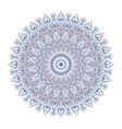 Symmetrical circular pattern mandala isolated on vector image