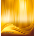 gold neon abstract background vector image vector image