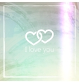 I love you abstract grunge background for web or