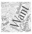 Job Interviews What You Shouldnt Discuss Word vector image vector image