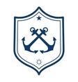 Nautical label Anchor icon vector image