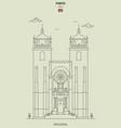 porto cathedral portugal vector image vector image