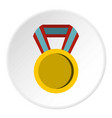Round medal icon circle