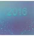 Text design Happy new year 2016 Graphic vector image vector image