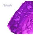 violet purple lilac grunge marble watercolor vector image
