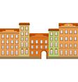 street building vector image