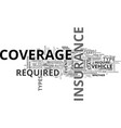 auto insurance explained text word cloud concept vector image vector image