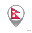 nepal point vector image