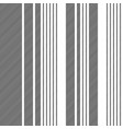 black white abstract lines seamless pattern vector image vector image