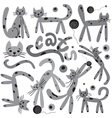 cats - cartoons vector image